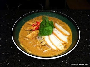 Home made Malaysian Curry Laksa