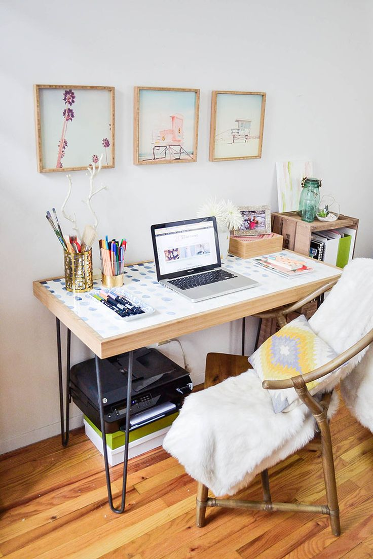 small spaces how to create a home office in a tiny apartment style
