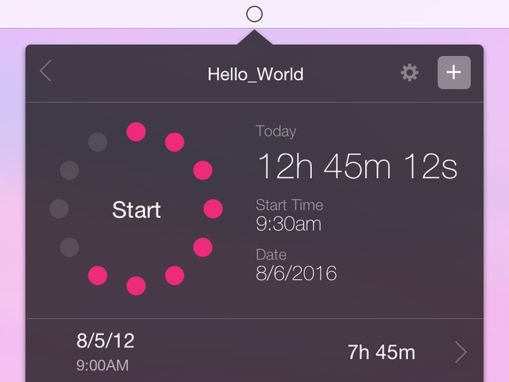 Time Tracker by Christian Jeria