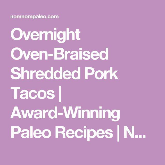Best 20+ Shredded Pork Tacos ideas on Pinterest | Pulled ...