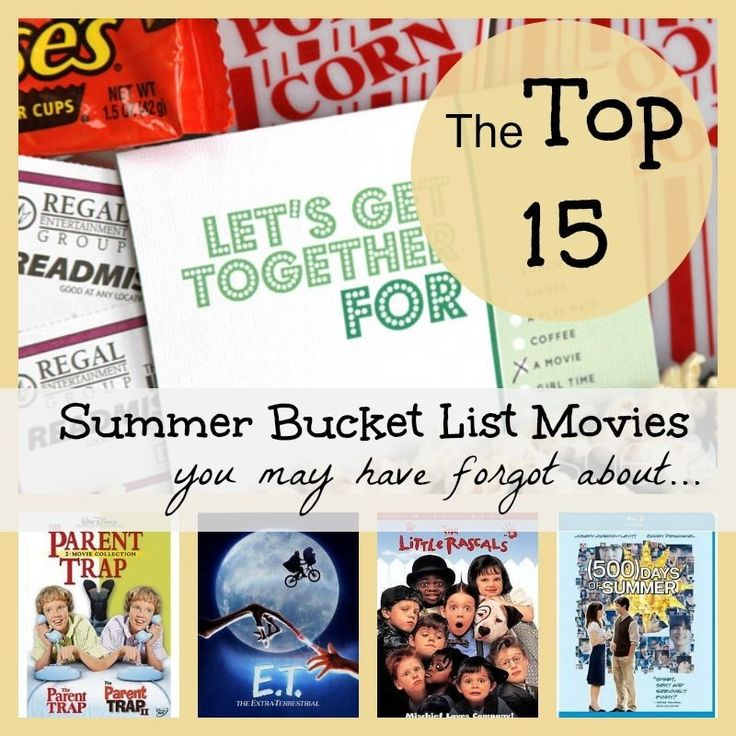 Warm nights call for a great flick,  popcorn, and plenty of movie snacks. It's time to introduce your family and friends to some classic summer movies that you may have forgot about. Read on as eBay shares 15 great flicks that need to be on your movie bucket list today!