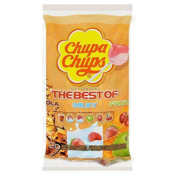Chupa Chups The Best of 120 Assorted Flavour Lollipops #ChupaChups