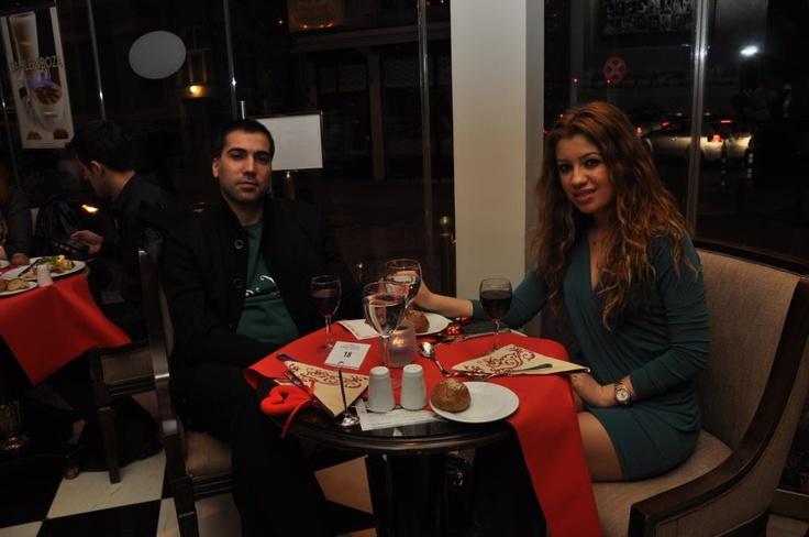 14 Şubat 2013 Sevgililer Günü'nde İlham Gencer ve Ayşe Gencer misafilerine; Elite World İstanbul Hotel'de unutulmaz dakikalar yaşattı!