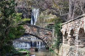 Waterfall at Balchik Botanical Gardens
