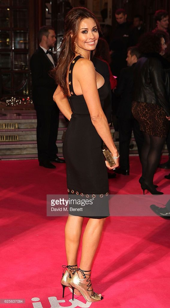Melanie Sykes attends the ITV Gala hosted by Jason Manford at London Palladium on November 24, 2016 in London, England.