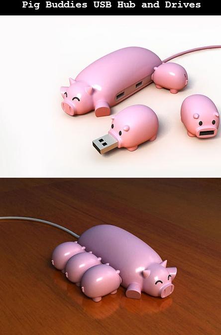 An OINK OINK USB #phatricegoods @phatricegoods