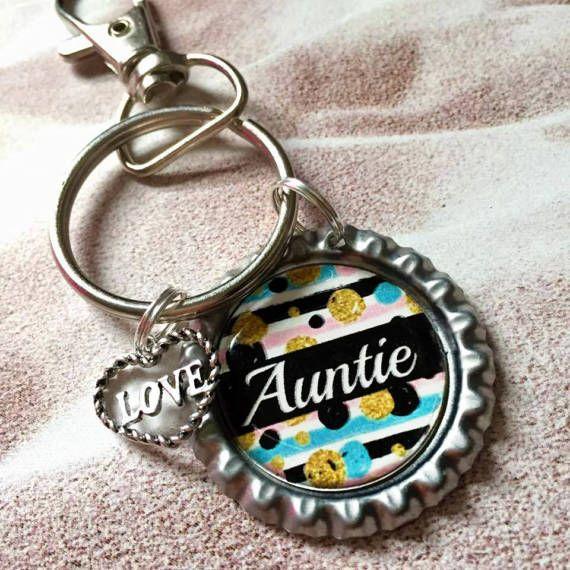 Aunt Keychain aunt gift aunt birthday gift gift for aunt