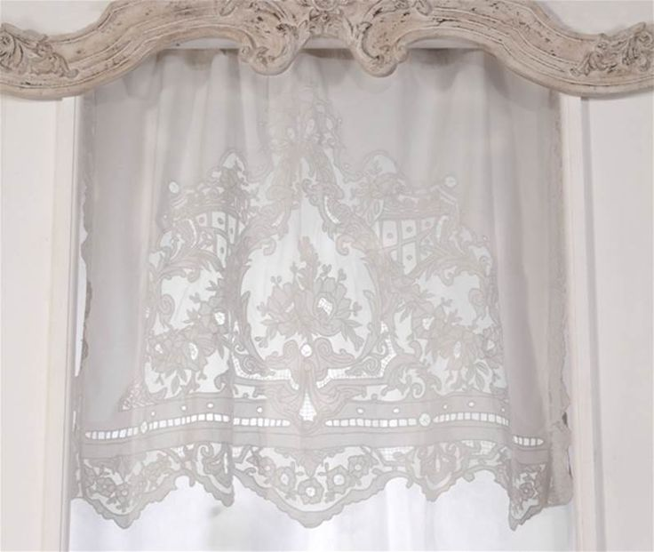 17 best images about shabby chic on pinterest for Cantonniere shabby chic