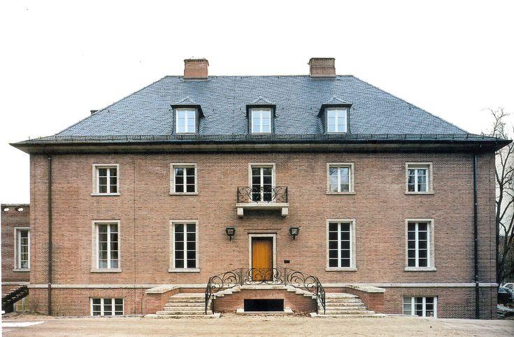 Georg mosler haus 1924 1926 by ludwig mies van der rohe - Casa perls mies van der rohe ...