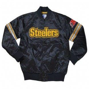 pittsburgh steelers nfl starter jacket black - Pittsburgh Steelers Merchandise