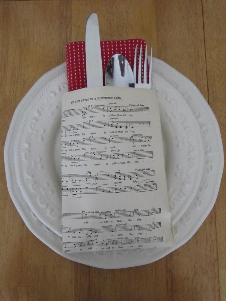 Sew Many Ways...: Tool Time Tuesday...Napkin and Place Setting Ideas