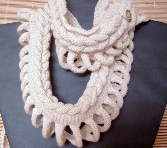 Knitting Patterns For Unusual Scarves : 1000+ images about Unique Knit Items on Pinterest