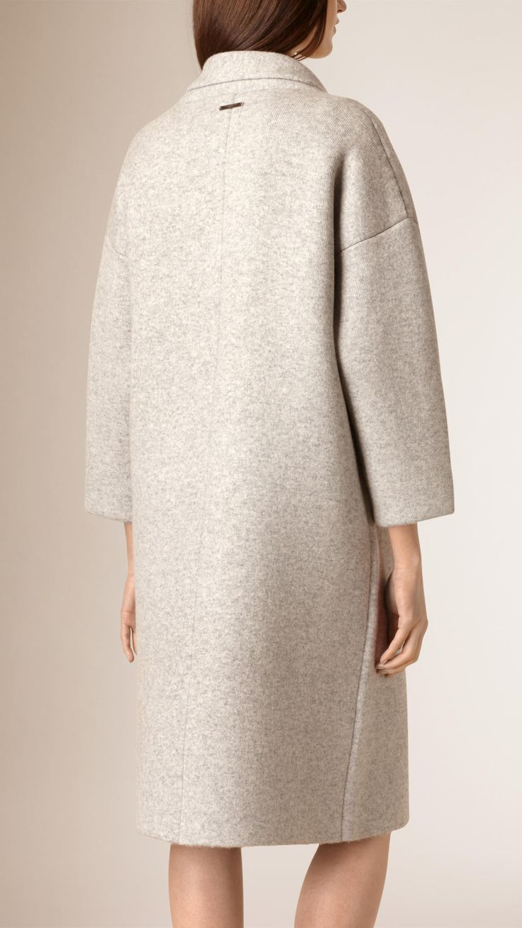 Oversize Wool Cashmere Cardigan Coat | Burberry