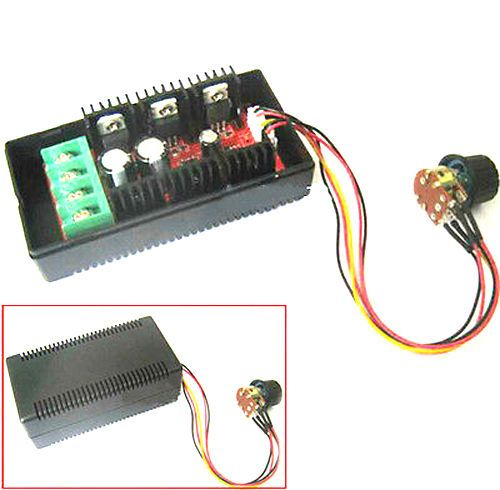 40A DC 9-40V 2KW max Motor Speed Control PWM HHO RC Controller pump Switch 12V 24v cooling fan dimmer heater thermostat