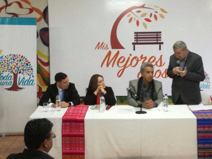 Adultos mayores no afiliados recibirán pensiones a partir de agosto ofrece Moreno - La Hora