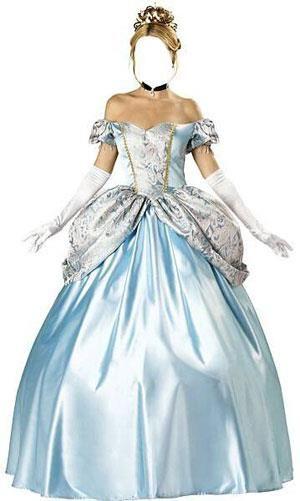 Женский костюм для фотошопа в бежевом платье