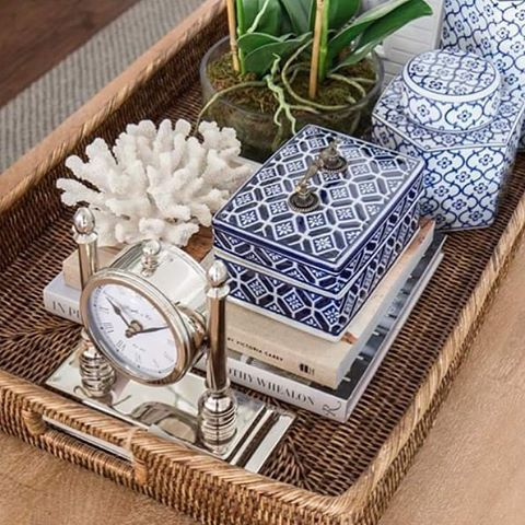 Some of our go-to coffee table styling pieces. Effortless, casual living