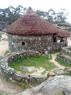 "Celt village ""Castro de Santa Tegra"" in A Guardia, Galicia, NW Spain"