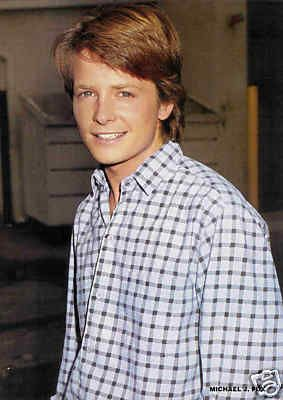 MICHAEL J FOX ...my friends all had crushes on Corey Haim or Kirk Cameron, but I was IN LOVE with Michael J Fox. He was an icon of the times, with movies like Back To the Future, & Teen Wolf, and shows like Family Ties!