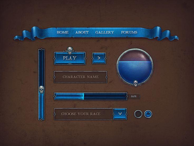 Game GUI by Rafał Urbański