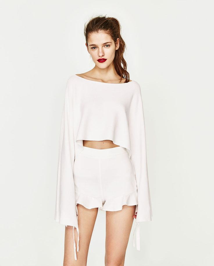 ZARA - WOMAN - HIGH WAISTED SHORTS