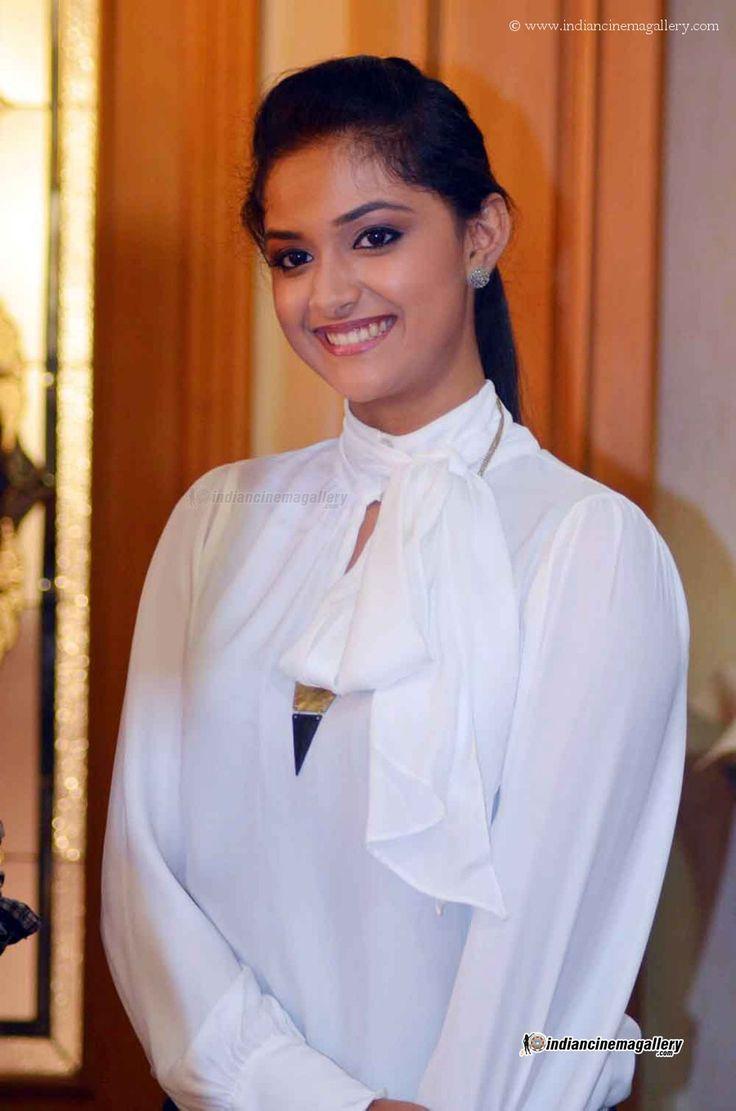 Keerthi Suresh at Geethanjali Audio Launch
