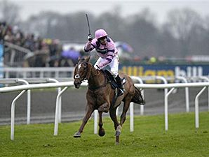 Silviniaco Conti won the William Hill King George VI Chase for the second straight year Dec. 26, 2014 at Kempton.