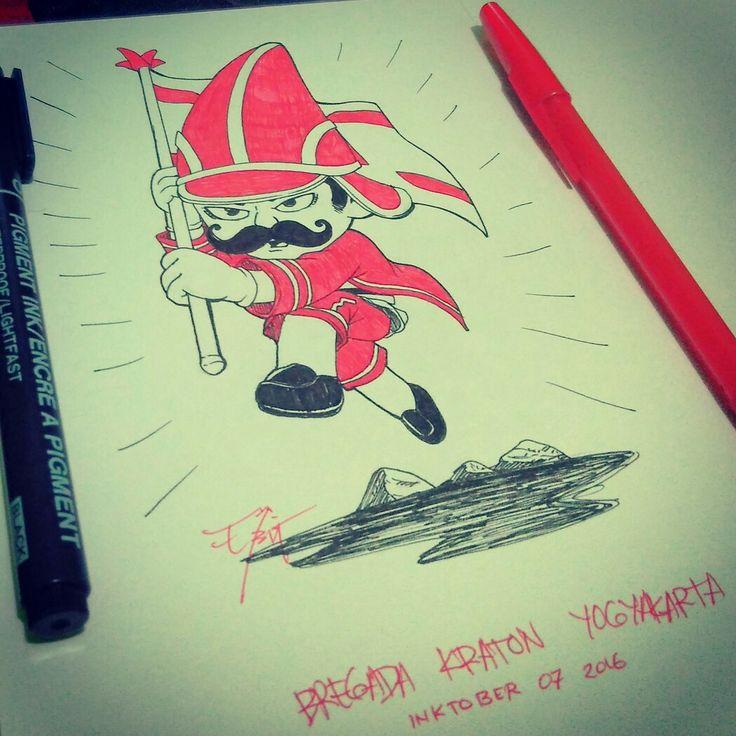 Prajurit kraton Yogyakarta. Happy birthday 260, Jogja.