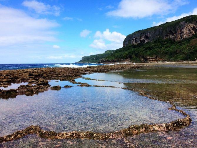 Fangatave Rock Pools - Eua, Tonga
