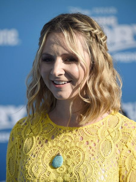 Beverley Mitchell Half Up Half Down - Beverley Mitchell sported a boho-chic half-up braid at the world premiere of 'Finding Dory.'
