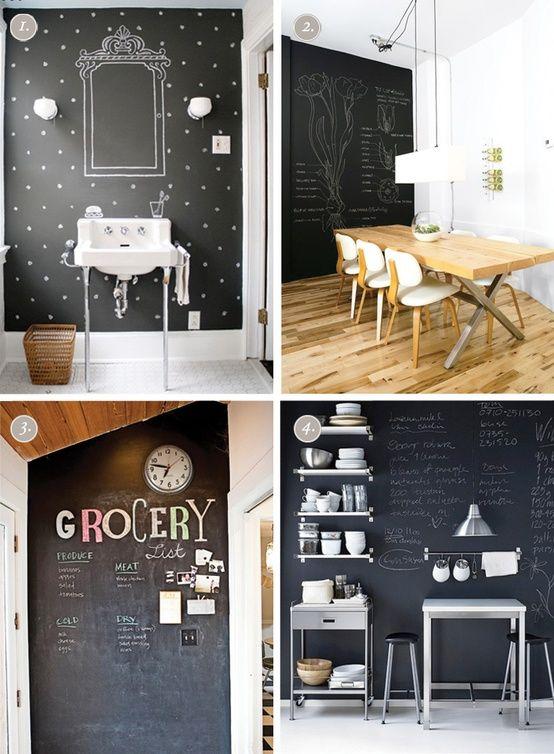 17 best ideas about chalkboard paint walls on pinterest. Black Bedroom Furniture Sets. Home Design Ideas