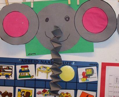 Knutselen: olifant