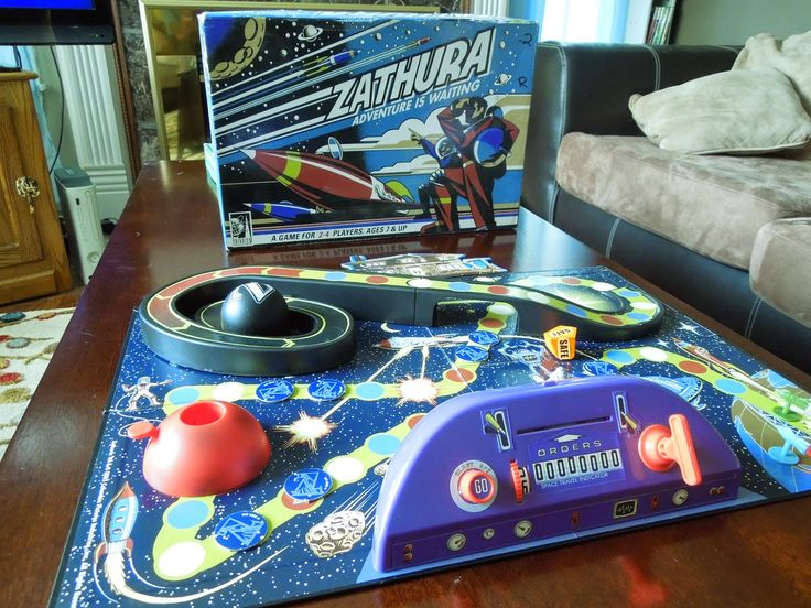 Zathura board game by Pressman