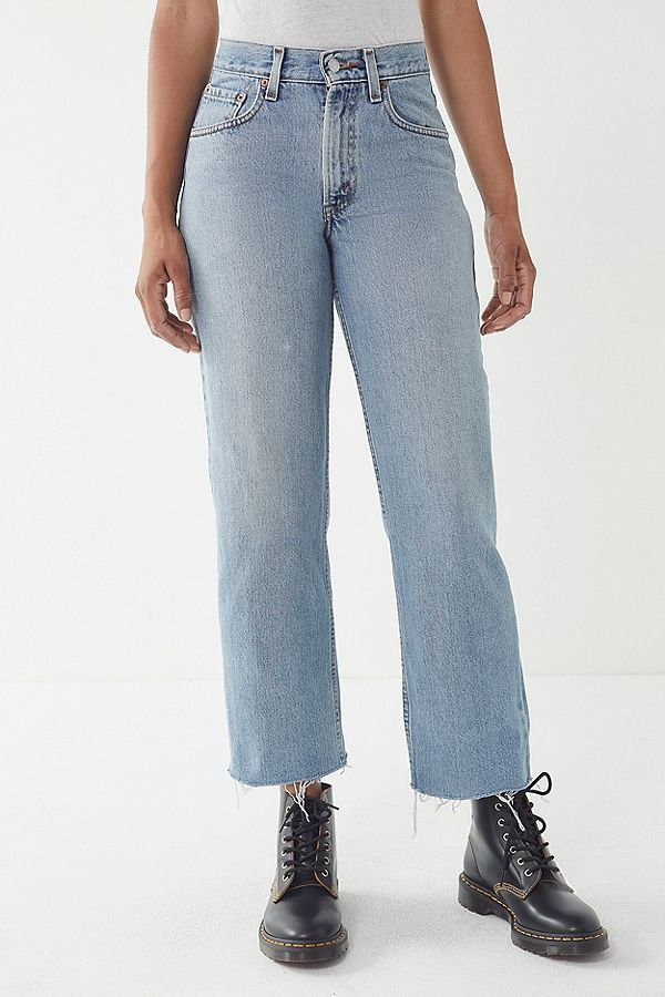 ec3fc0c565 Vintage Levi's 550 Cropped Relaxed Jean | style | Vintage levis ...