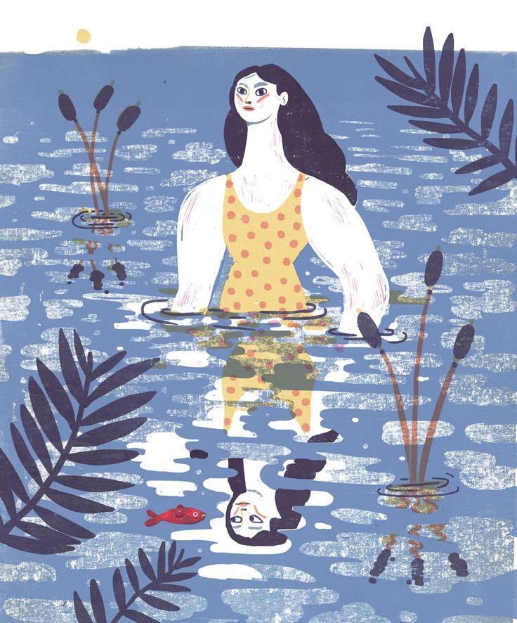 Irene Rinaldi   Water, Water, everywhere. - Oregon quarterly on Behance