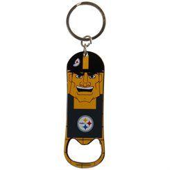 Pittsburgh Steelers Mascot Bottle Opener Keychain