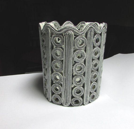 Vase Übertopf Bleistifthalter handgemacht aus von fantasmania