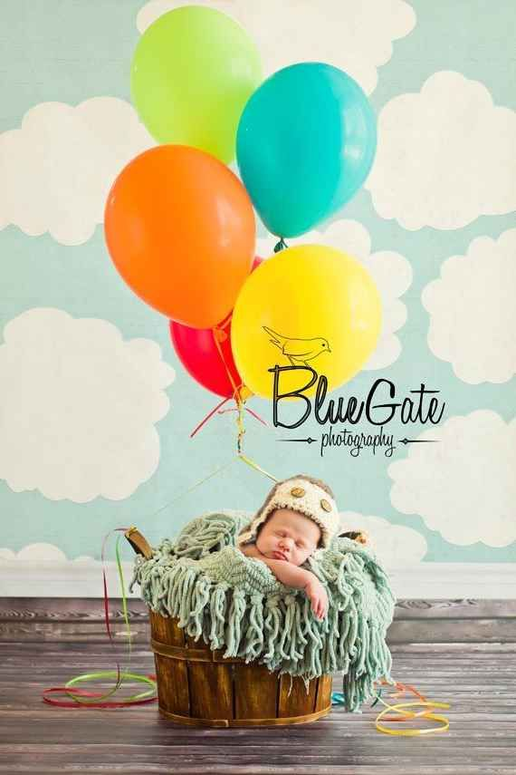 This Pixar pal: Disney inspired newborn photography- Up!