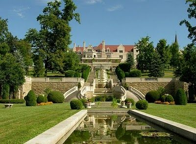 Immergrün Estate Gardens in Loretto, PA.  [Former estate of Charles Schawb, now Mount Assisi (Franciscan) Monastery.]