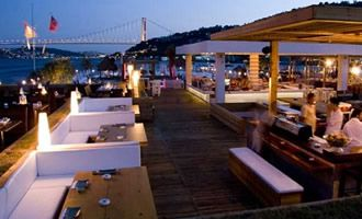 Suada is befitting of glamorous Istanbul. Set in the middle of the Bosporus with a 360 degree panoramic view of Istanbul. Suada is essentially a floating club in the Bosporus with a floating Olympic size pool.