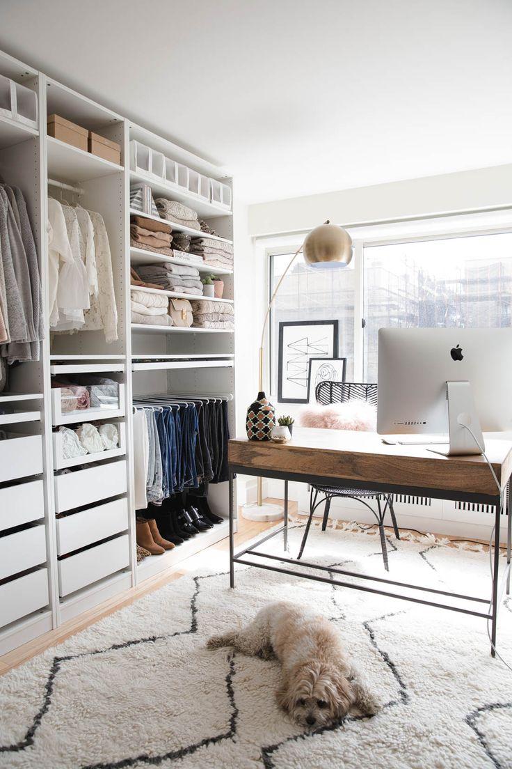 Closet/Office | Styled Snapshots