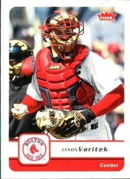 2006 Fleer #299 Jason Varitek Front