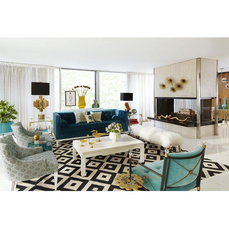 204 best Living Rooms images on Pinterest   Jonathan adler, Design ...