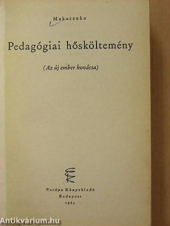 Pedagógiai hősköltemény
