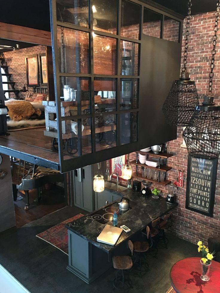 Vintage Industrial Design Ideas For Your Loft #bar…