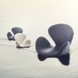 The Swan chair by Arne Jacobsen 1:6 design photo by Ida Buss #allgoodthings #danish spotted by @missdesignsays