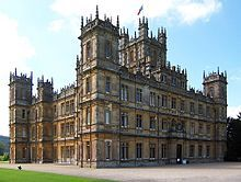 The series is set in the fictional Downton Abbey, stately home of the Earl and Countess of Grantham, and follows the lives of the aristocratic Crawley family and their servants early in the reign of King George V. The first series spans the two years prior to the Great War, commencing with news of the sinking of the Titanic, an event that sets the story in motion. The second series covers the years 1916 to 1918.