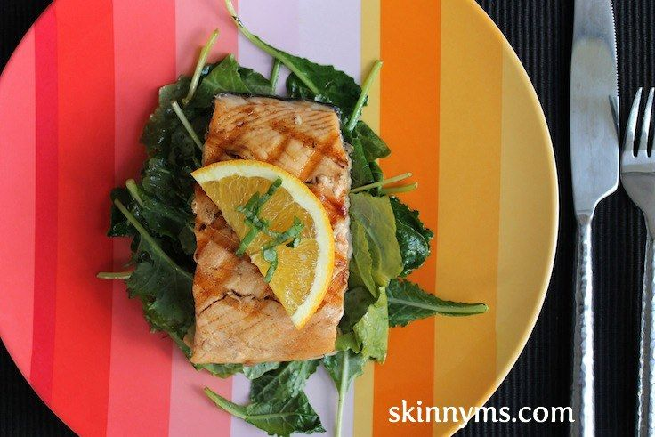 Orange Glazed Salmon With Wilted Kale is my absolute favorite Salmon recipe. I love cooking with superfoods that provide tons of nutrients, antioxidants and are packed with flavor. The combined flavors of the salmon, orange and kale make for one delicious dish.