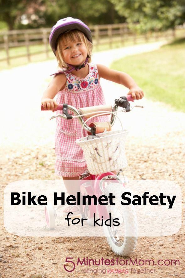 Bike Helmet Safety For Kids Kids Bike Kids Health Helmet