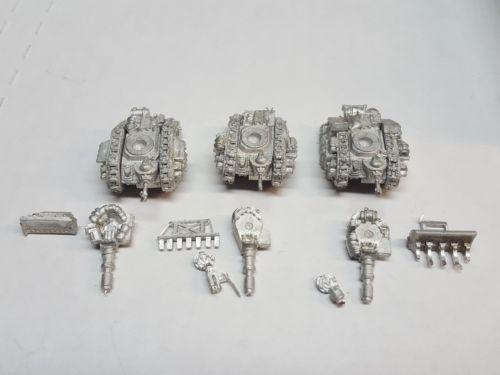 40K Miniatures 183473: Epic 40K Warhammer Leman Russ Battle